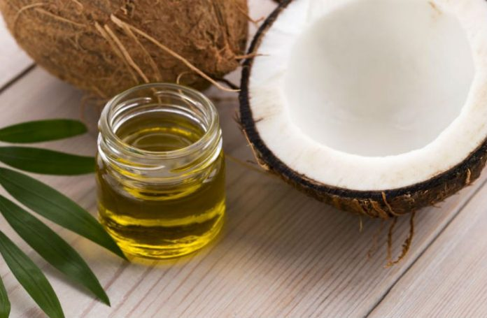 Kokosnøttolje fantastisk mot tørt hår